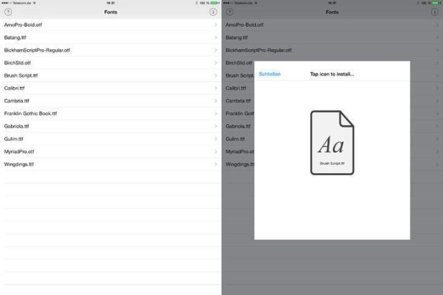 Install Any Font On Your iOS Device With A Regular App Store App