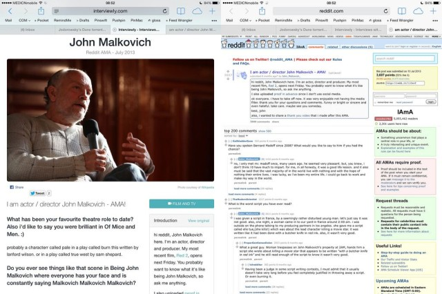 Interviewly Makes Reddit AMAs Look Beautiful On Your iPad | Cult of Mac