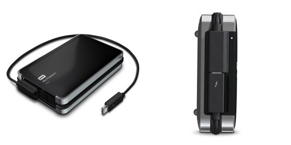 Wd Makes First Portable Thunderbolt Hard Drive Cult Of Mac
