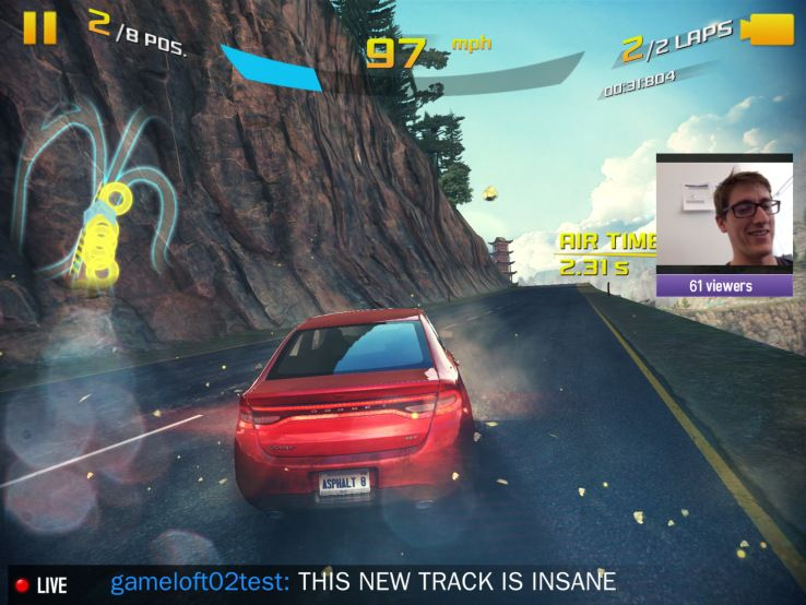 Twitch-streaming-Asphalt-8