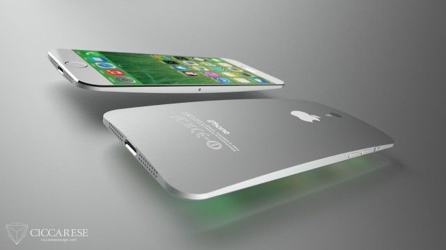 iPhone 6 concept design by Federico Ciccarese.