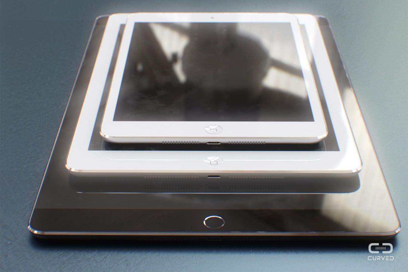Are you ready for the giant-sized iPad Pro? We are. Photo: CURVED