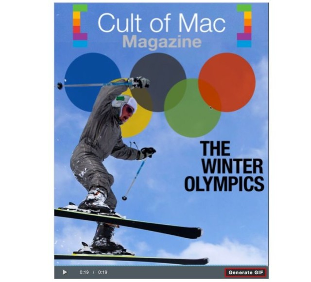 Click the image above to see the video I created from a past issue of Cult of Mac Magazine.
