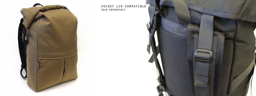 Roll-Top Beckett Backpack Keeps Your Gear Dry, Even In Canada