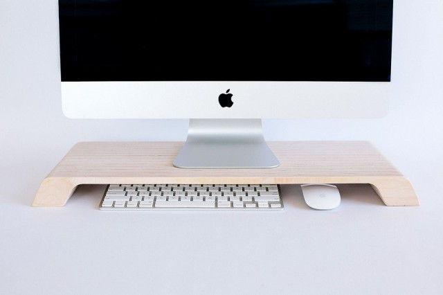 Beautiful Wooden Stand Elevates Your Imac Cult Of Mac