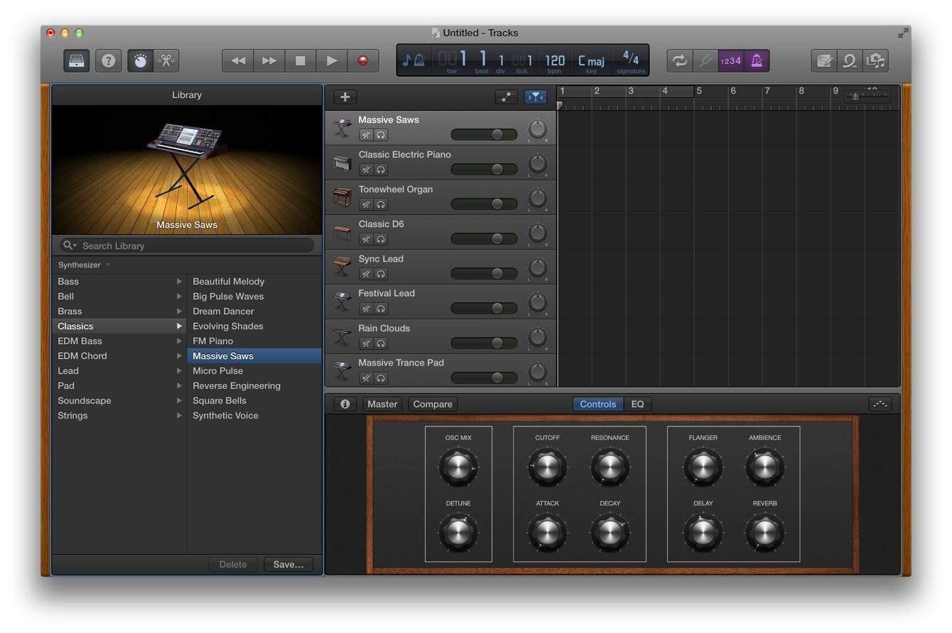 rock harder with garageband on your mac cult of mac. Black Bedroom Furniture Sets. Home Design Ideas
