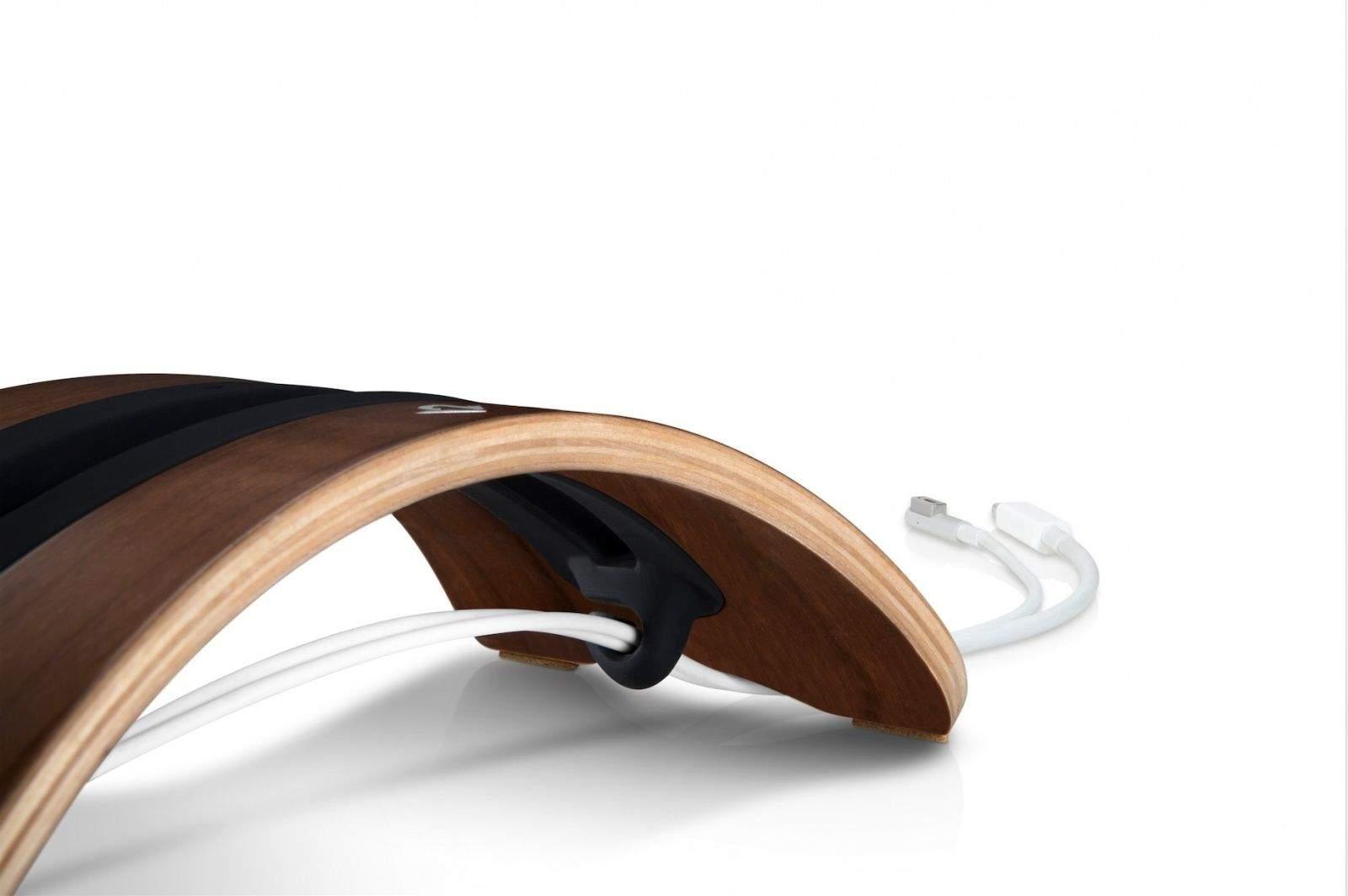 twelve south 39 s bookarc m d is a gorgeous mid century. Black Bedroom Furniture Sets. Home Design Ideas