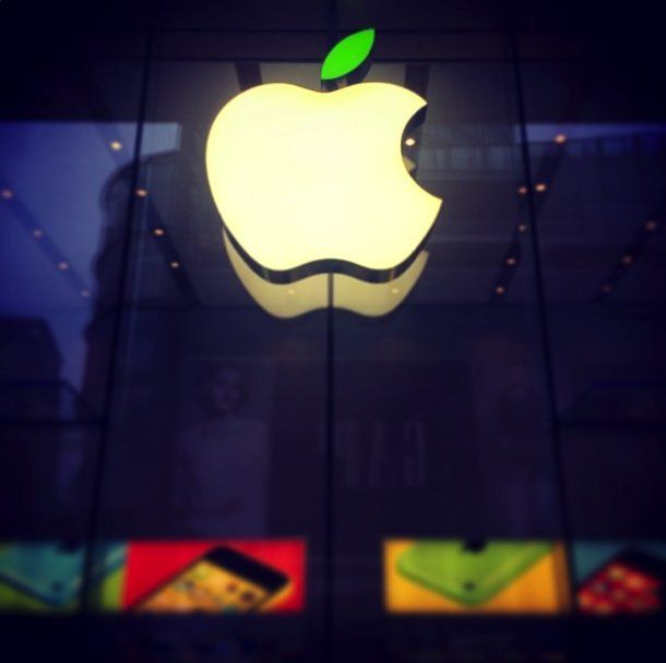 Apple's Nanjing East Retail Store in Shanghai celebrates Earth Day (Credit: Znnina)