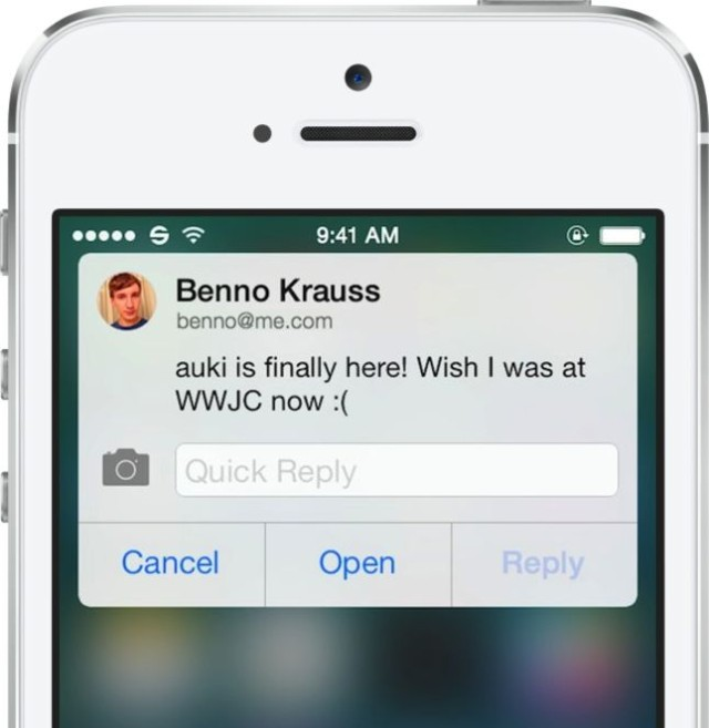 Dear Apple, please make something like this for iOS 8.