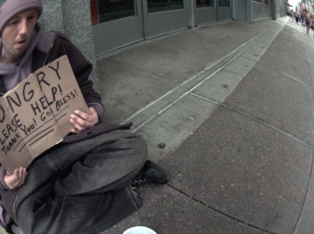 Autographer makes street photographer a lot less invasive. Photo: David Pierini/Cult of Mac