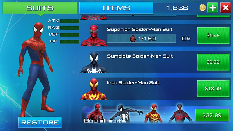 The Amazing Spider-Man 2 iOS Game Is Good Enough You'll
