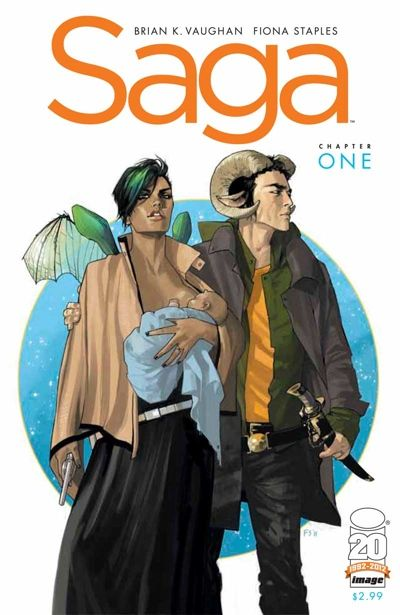 Saga #12 became the center of controversy after it was reported that Apple had banned it due to a gay sex scene.e