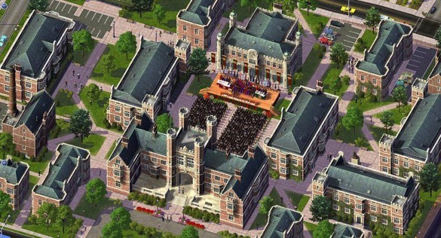 The amount of detail on the buildings makes SimCity 4 a whole lot of fun.