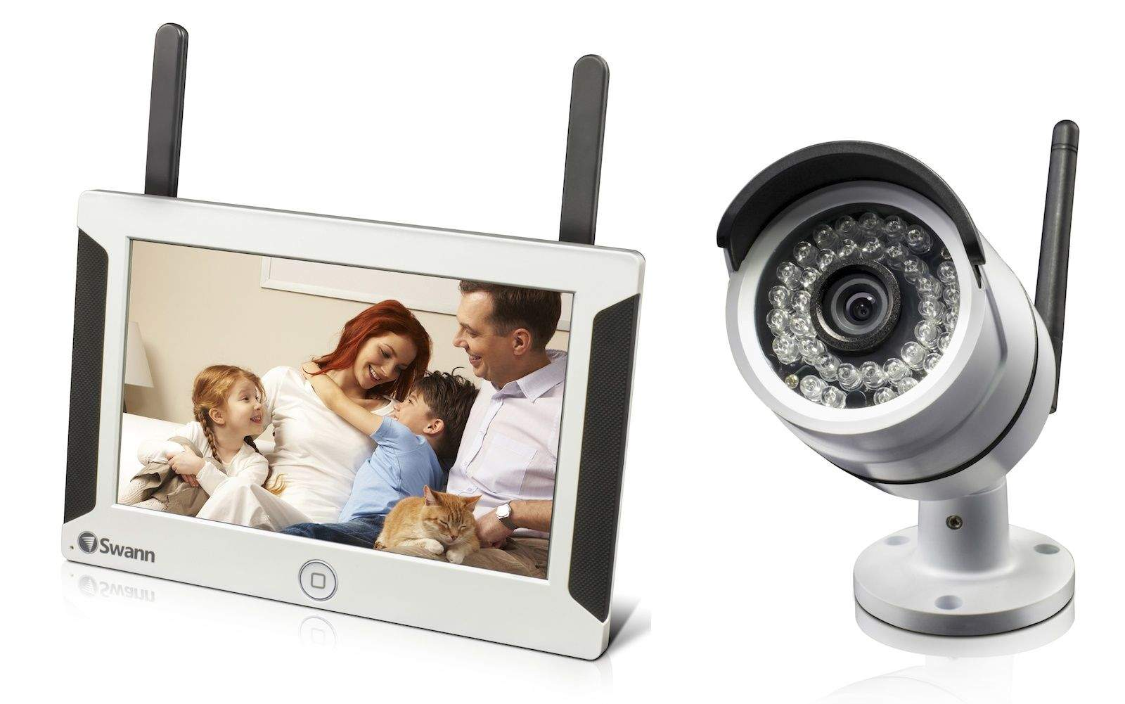 Swann S New Security Camera Comes With Its Own Tablet Like