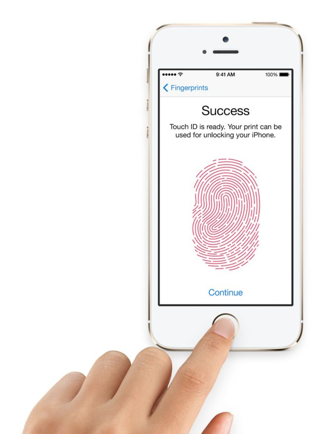 Touch ID may not be so secure, after all. Photo: Apple