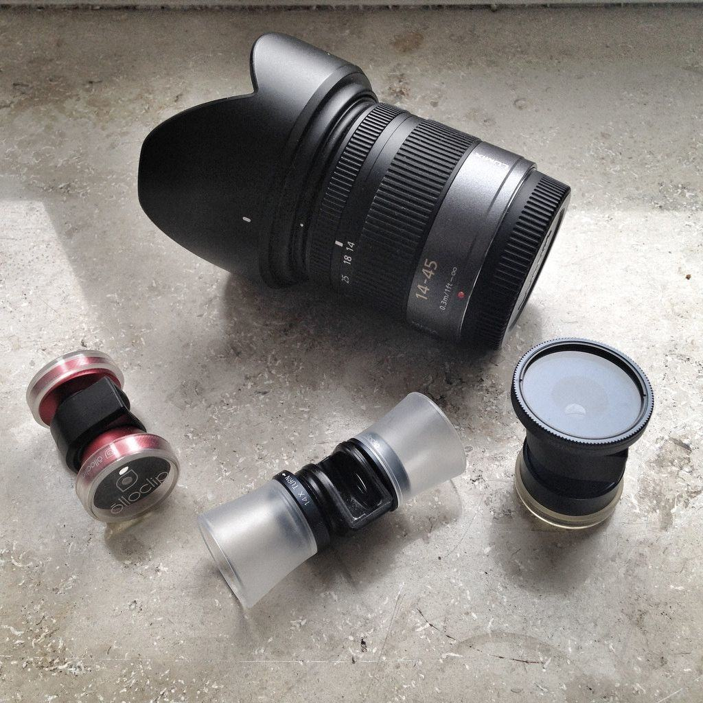 Quick-connect iPhone lenses are certainly less bulky than typical camera gear, but there's a price to be paid for convenience. Photos: Charlie Sorrell/Cult of Mac