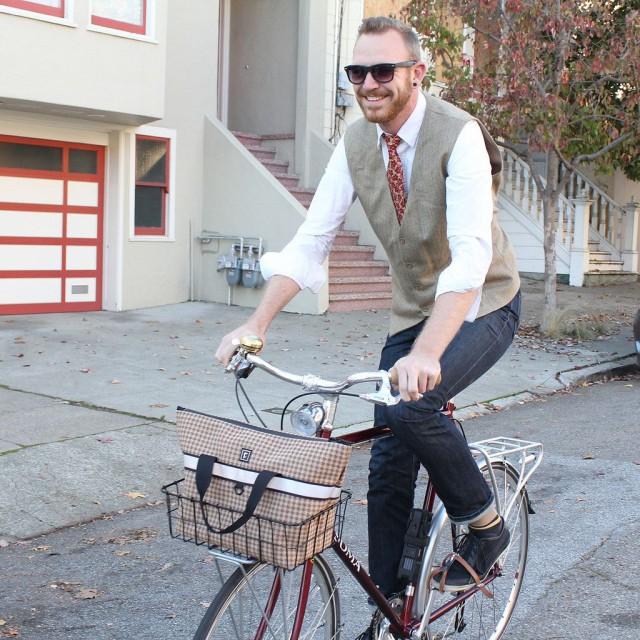 Rickshaw Bike Basket Bag