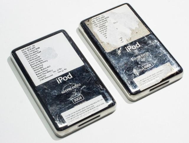iPod prototypes