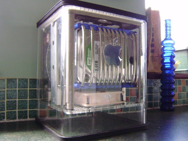 This is the world's first water-cooled Cube.