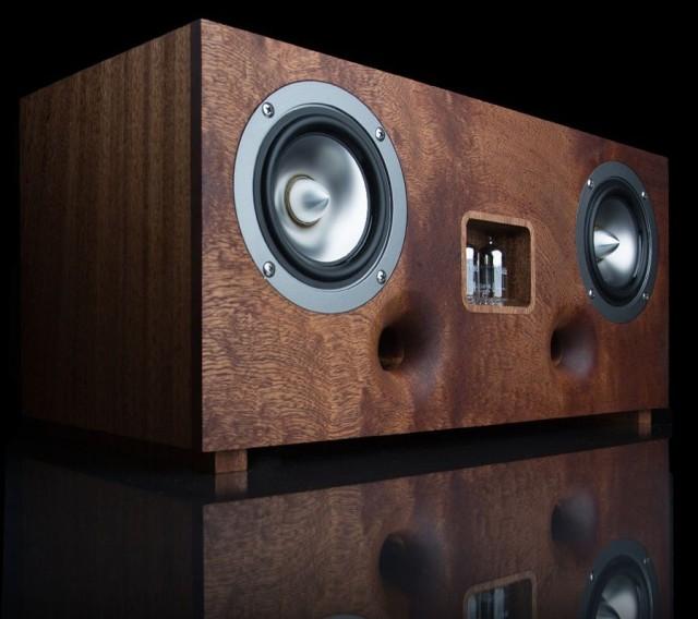 Duo valve speaker