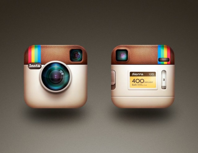 The Instagram icon Rise designed in a pinch. Much hasn't changed.