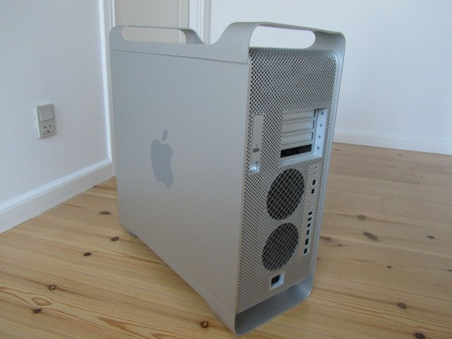 The original PowerMac G5 case