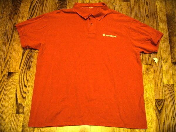 Orange Staff Polo