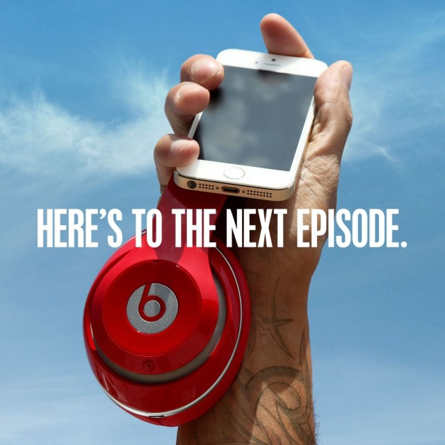 So long as the next episode doesn't include antitrust violations, that is. Photo: Beats Music