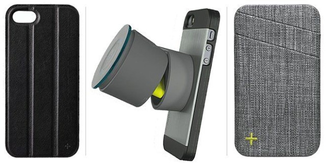 The +tilt, +drive and +wallet accessories.