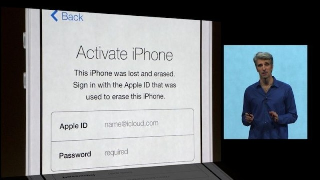 When it was introduced in iOS 7, Apple called Activation Lock