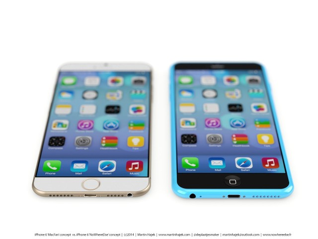 iPhone 6 and 6c concept