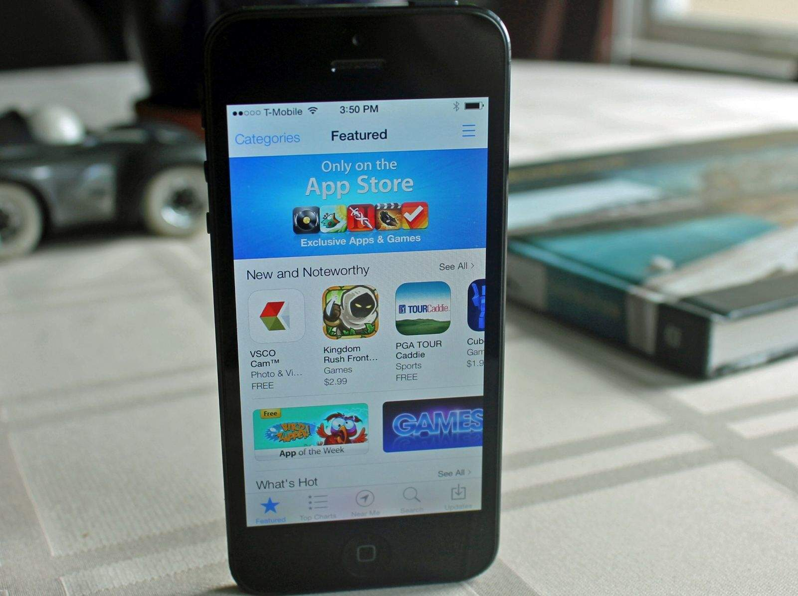The App Store just keeps getting bigger. Photo: Apple