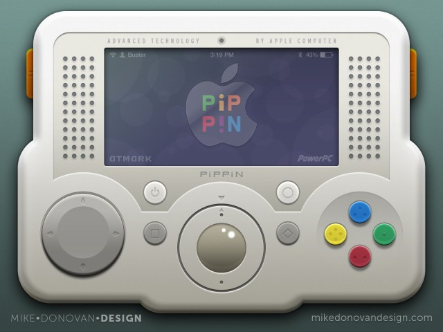 retrotastic pippin portable takes its place in mythical apple pantheon