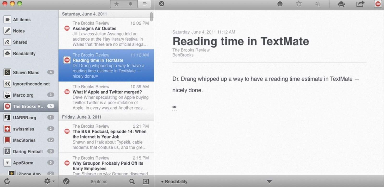 Rss feed reader mac free