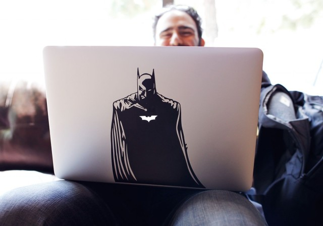 Batman was spotted at Jillian's in San Francisco during AltConf's Journalist Pitch Lab. Photo: Jim Merithew/Cult of Mac