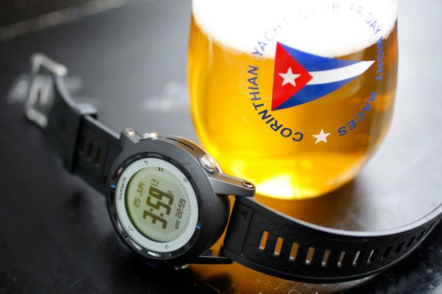 Garmin quatix sailing watch