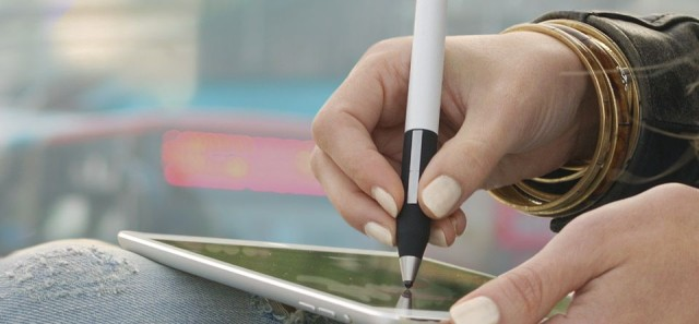 "If you like the look of Adobe's new Creative Cloud apps Sketch and Line, but don't fancy buying the $200 official stylus to use with them, you should pick up Adonit's new Jot Touch instead. It has a tiny ""Pixelpoint"" tip instead of a disk or fat rubbery point, and it works just like Adobe's Ink stylus, letting you copy and paste to/from the Creative Cloud as well as access files and Kuler color palettes. Best of all, it's just $120."