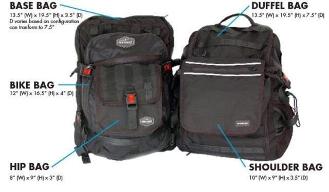 Bowerbag modular bag