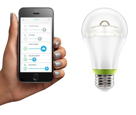 Link Is A Smart Led Light Bulb You Control With Your Iphone