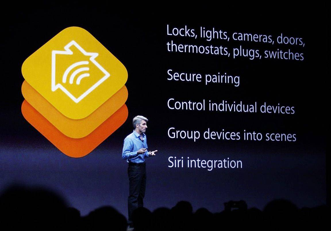 Craig Federighi talks up Apple's home automation plans. Photo: Roberto Baldwin/The Next Web