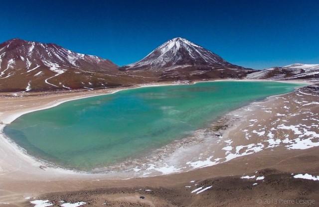 KAP Over Laguna Verde, Bolivia