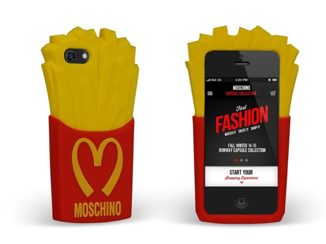 Moschino french fries case