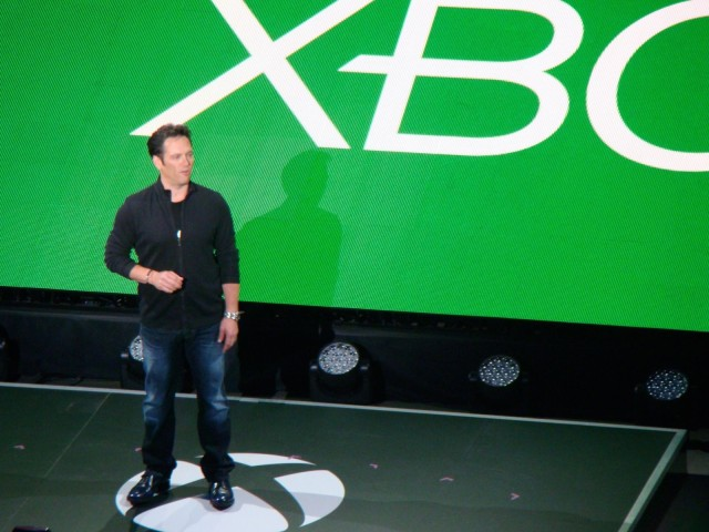 Xbox head Phil Spencer had a lot of 'splainin' to do. Photo: Rob LeFebvre/Cult of Mac