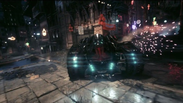batmobile battle mode