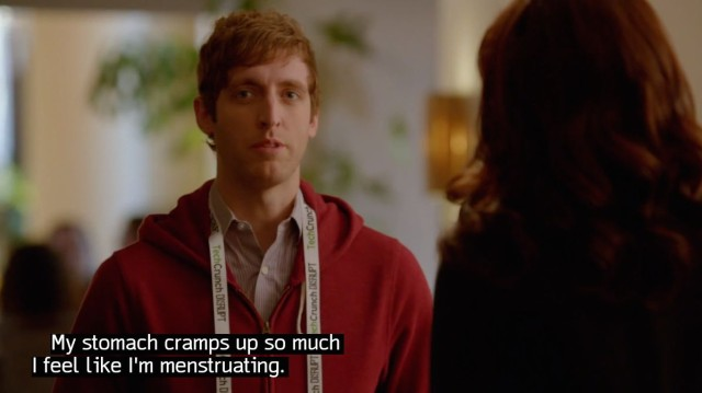 Thomas Middleditch as Richard Hendriks in HBO's Silicon Valley.