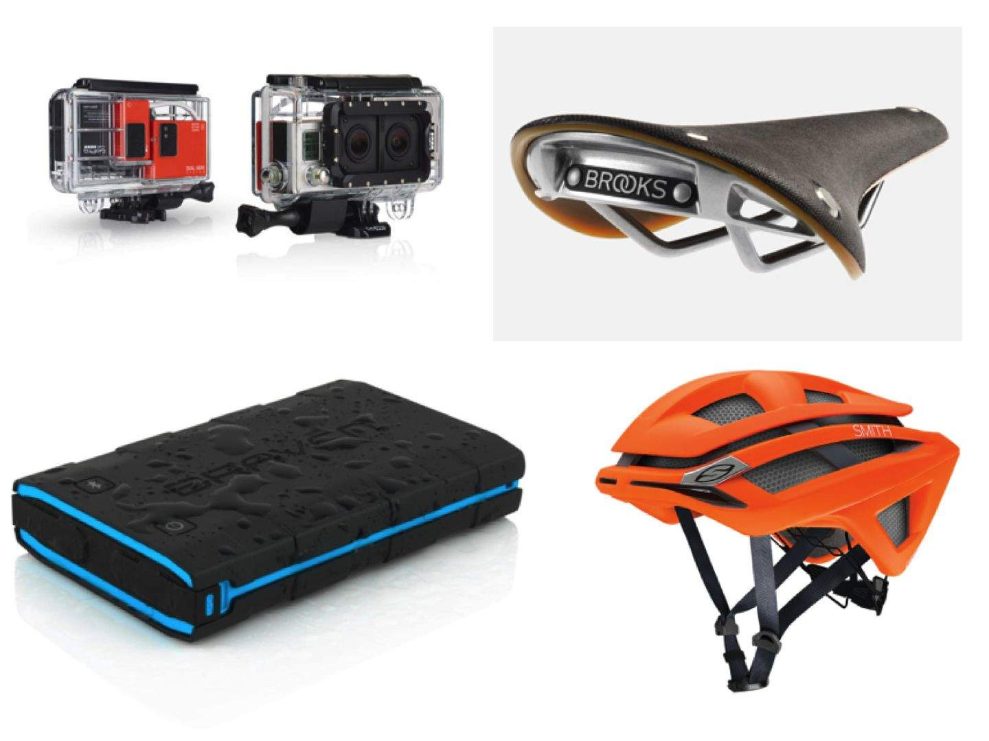 Cameras, chargers, cycle helmets and saddles. Yes, it's another edition of Cult of Mac's Gadget Watch, and again we're heading outdoors to snap photos and enjoy the sun. Take a look at this week's death-defying gear.