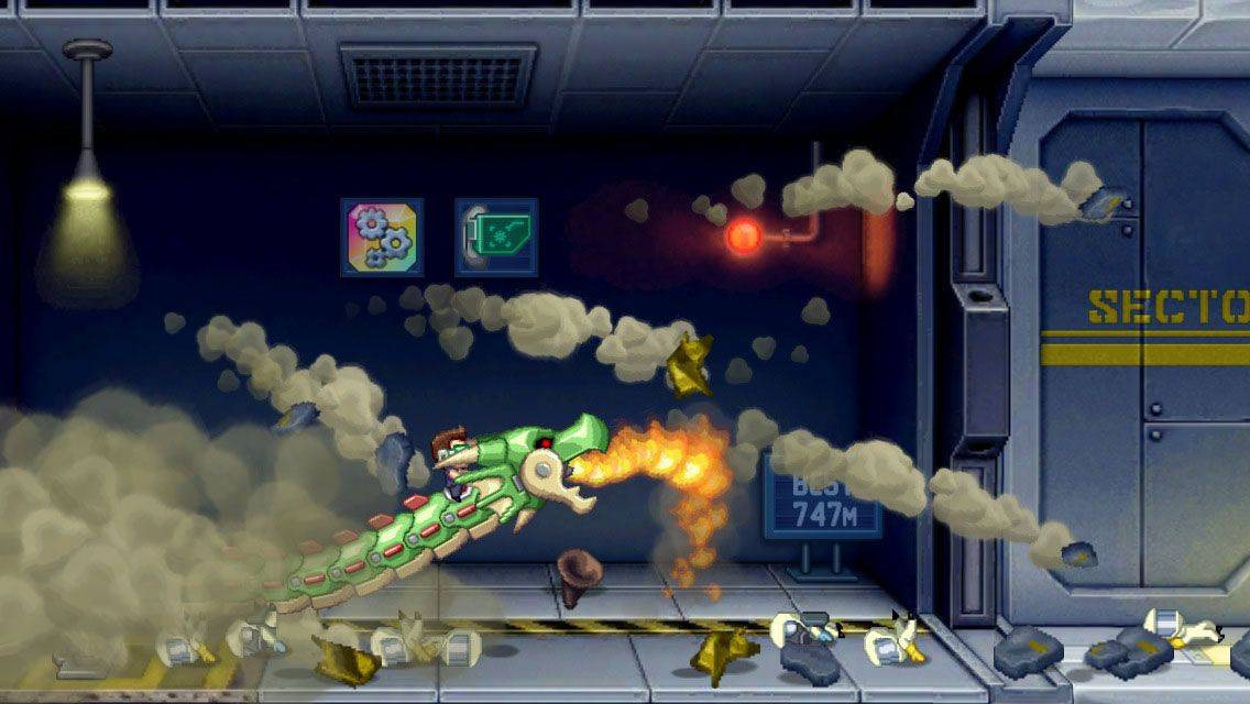 Ride the dragon to victory in Jetpack Joyride, now totally free.