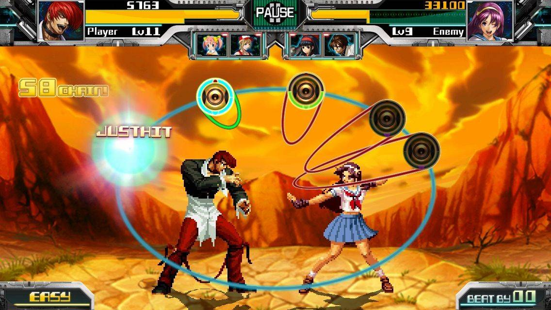 The King of Fighters will unleash its musical side in new