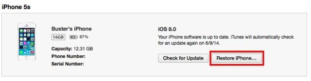 restoreiPhone