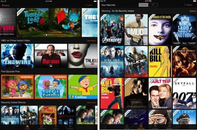 Amazon Instant Video lets you watch the first episode of hit shows